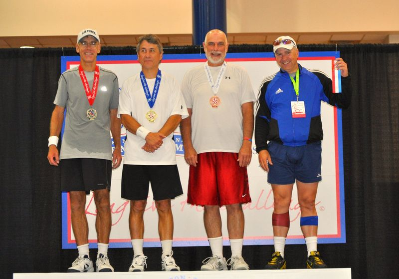 US Senior Olympic Games 2011 finalists